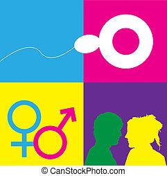 Sex Education Symbols
