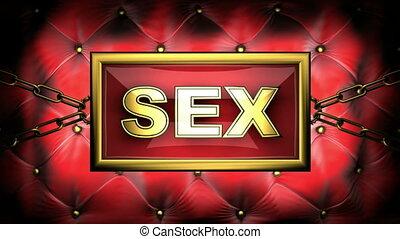 sex  on velvet background