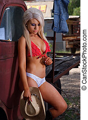 sexet, cowgirl