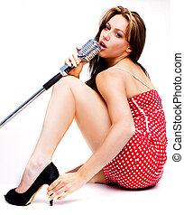 sexig, sångare