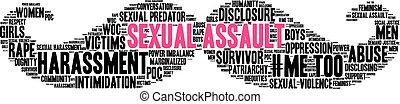 Sexual Assault Word Cloud