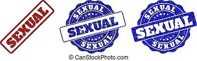 SEXUAL Grunge Stamp Seals