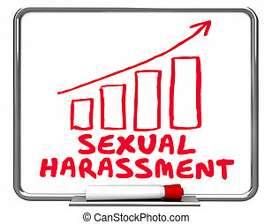 Sexual Harassment Accusation On Rise 3d Illustration
