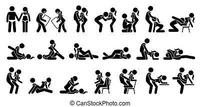 sexual, posições