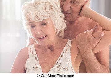 sexuell, alter, altes , aktivität
