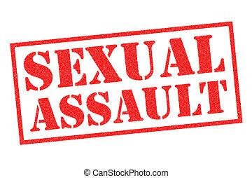 sexuellt angrepp, gummi stämpla