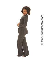 Sexy african businesswoman