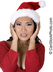 sexy asian santa