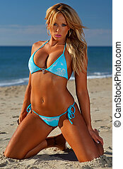 Sexy bikini girl