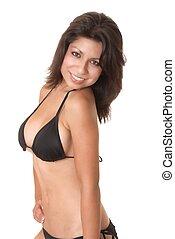 sexy, bikini, latina