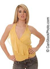 Sexy Blond Girl 603