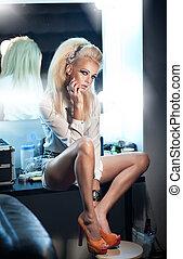 sexy, blond, girl