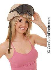 Sexy Blond Soldier Girl 2