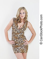 Sexy Blonde Model