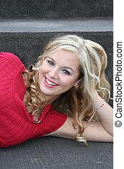 sexy, blondynka