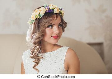 sexy bride wedding
