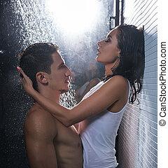 Congratulate, mature couple shower remarkable, very