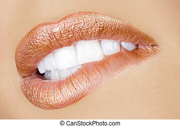 sexy, desiderio, labbra
