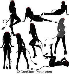 sexy devil women