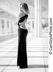 Sexy Elegant Woman Posing