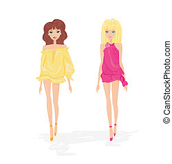 sexy fashion girls