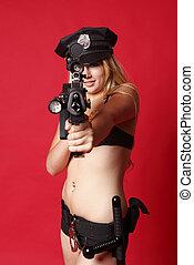 sexy, gendarme