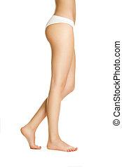 Sexy girl shows nice,long legs