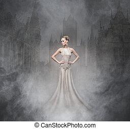 sexy,  image,  Halloween,  vampire