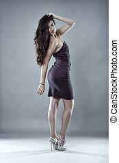 Sexy latin model