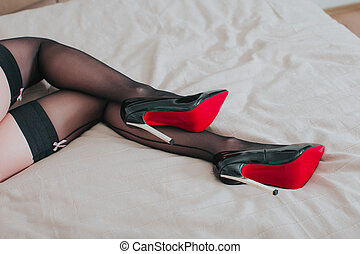 Are not Sexy legs in stockings and heels