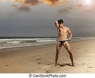 sexy, mann