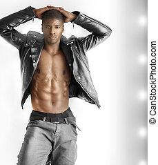 sexy, mannelijke , model