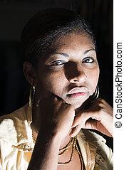 sexy nicaraguan hispanic latin black woman - sexy attractive...