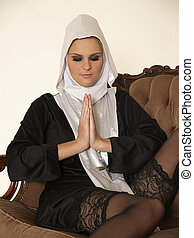 Sexy nun