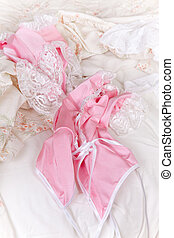 Sexy panties and baby-doll - Sexy white panties and silk ...