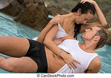 sexy, pareja