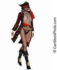 sexy, pirat