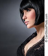 sexy, portret kobiety