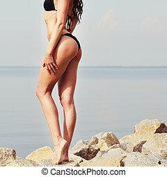variants.... skinny brunette virgin consider, what very