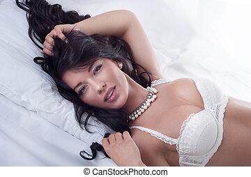 Sexy woman posing.