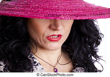 Sexy Woman With Hat