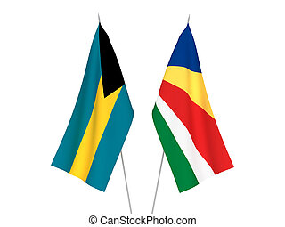 Seychelles and Commonwealth of The Bahamas flags - National ...