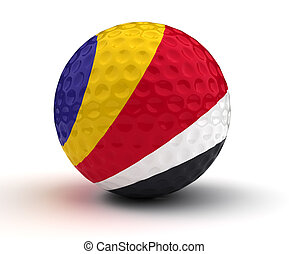 Seychelles Golf Ball