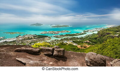 Seychelles Long Exposure Timelapse - Long exposure timelapse...
