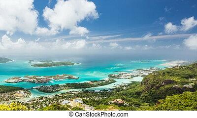 Seychelles Mahe Coastline Timelapse - Timelapse sequence...