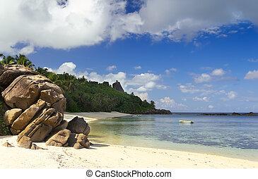 seychelles, motyw morski
