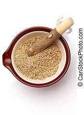 sezam, biały, nasienie