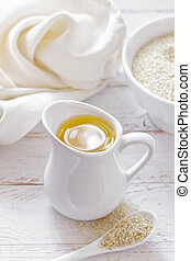 sezamowy olej