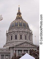 SF City Hall - City Hall of San Francisco, California,...