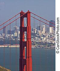 SF GG Bridge - San Francisco's Goldend Gate bridge